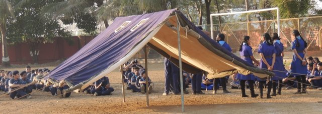 SCOUT & GUIDE CAMP (SECONDARY SECTION)