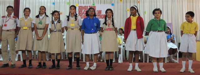 ENGLISH ELOCUTION COMPETITION (SECONDARY SECTION)