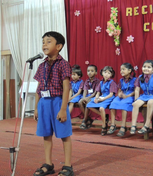 Recitation Competition(Pre-Primary Section)