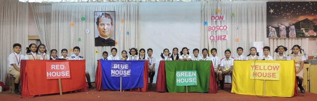 DON BOSCO QUIZ COMPETITION : (PRIMARY SECTION)