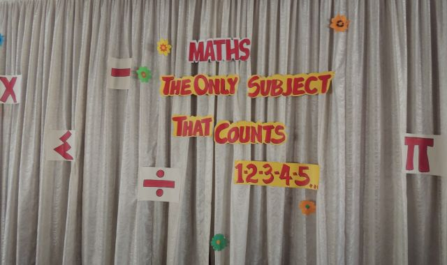 MATHS DAY : (SECONDARY SECTION)