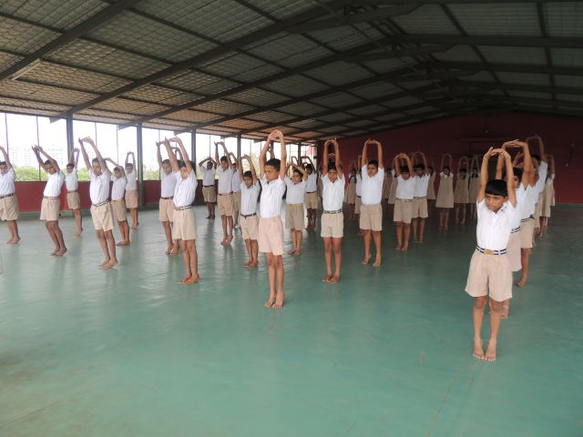 INTERNATIONAL YOGA DAY (Secondary Section)