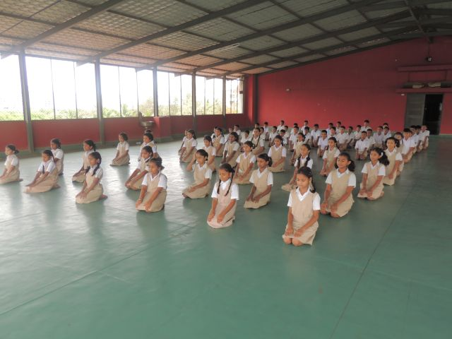 INTERNATIONAL YOGA DAY (PRIMARY SECTION)