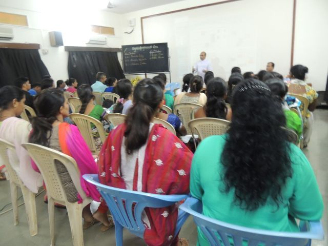 PARENTS AND REMEDIAL STUDENTS MEETING WITH Fr. EDWARD D'SOUZA (PRIMARY)