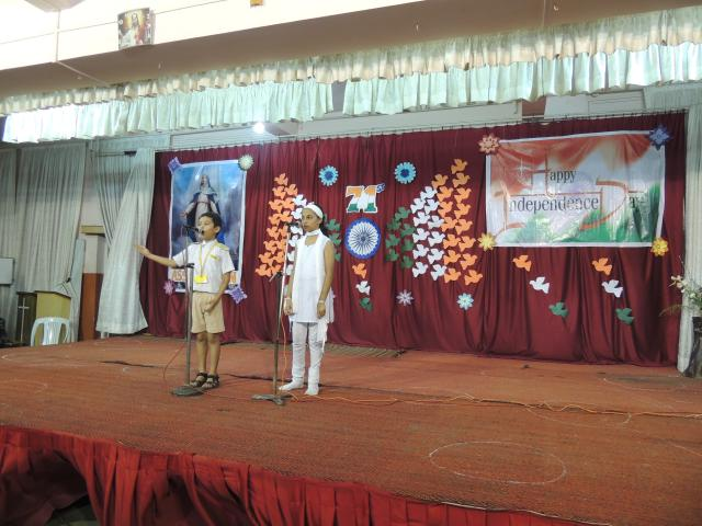 INDEPENDENCE DAY CELEBRATION (PRIMARY SECTION)
