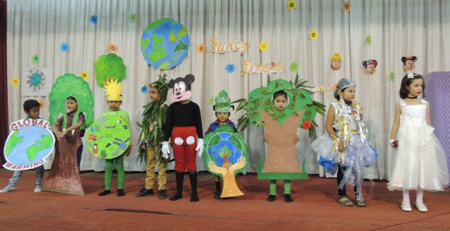 FANCY DRESS COMPETITION (PRE-PRIMARY SECTION)
