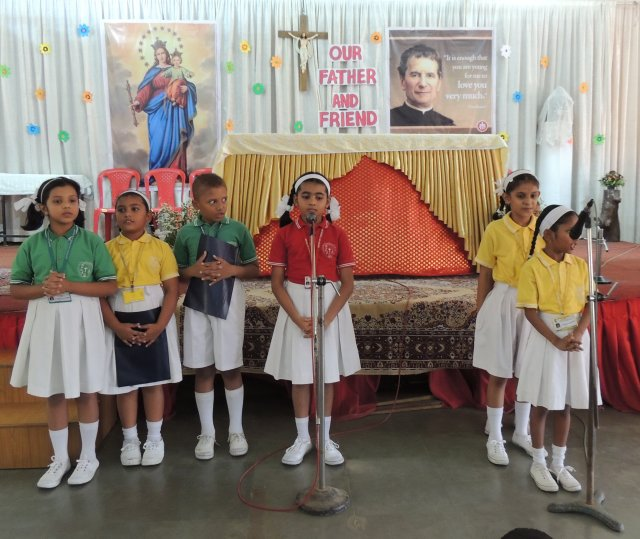 DON BOSCO FEAST (PRIMARY SECTION)
