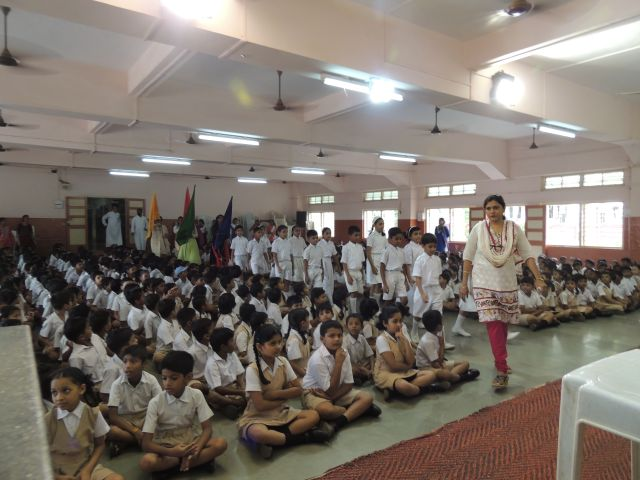 INVESTITURE CEREMONY (PRIMARY SECTION)
