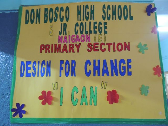 DESIGN FOR CHANGE – 2017 (DFC) (PRIMARY SECTION)