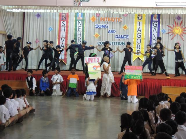 PATRIOTIC DANCE COMPETITION (PRIMARY SECTION)