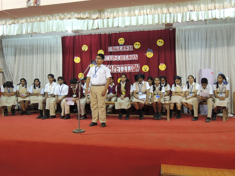 ENGLISH ELOCUTION COMPETITION (SECONDARY)