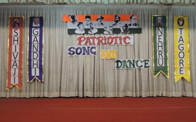 Patriotic song and dance completion