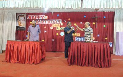 Manager's Birthday / Fr. Nelson's Birthday (Dual Birthday Celebration)